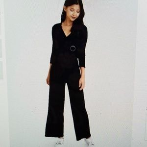 NWT AE long sleeved jumpsuit